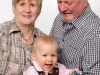 Isabel mit Oma Karin & Opa Peter