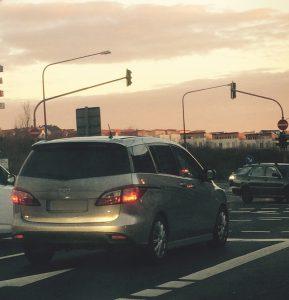 Mazda5 im Strassenverkehr