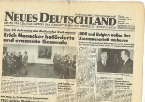 Neues Deutschland 1989