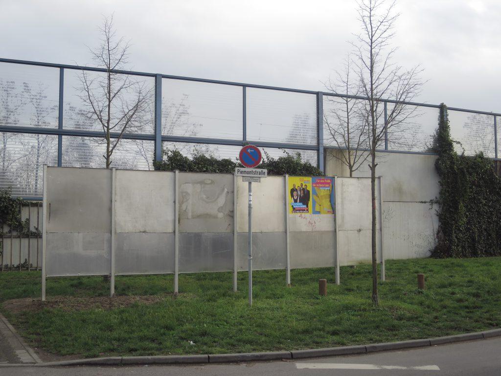 Plakatwand in Walldorf