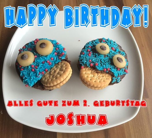 Happy Birthday Joshua - 2016