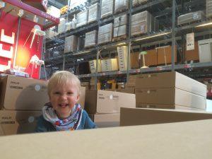 Spielen im Ikea